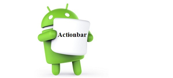 ActionBar trong Android